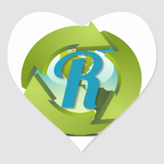 Re-Scape Heart Sticker