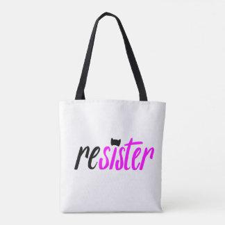 Re(sister) Tote Bag