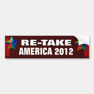 Re-take America Bumper Sticker