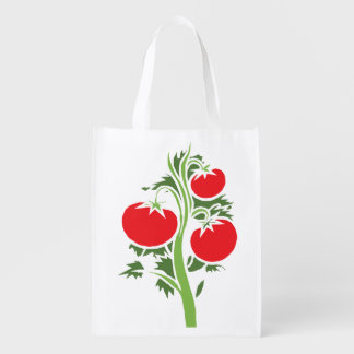 Re-Usable Bag With Tomatoes