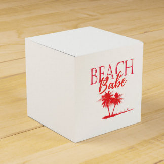 Rea Palm Beach Coral Favour Box