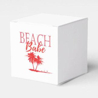 Rea Palm Beach Coral Favour Boxes