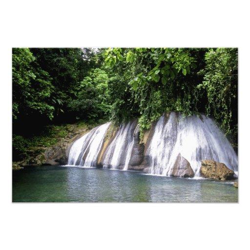 Reach Falls, Port Antonio, Jamaica Photo Print