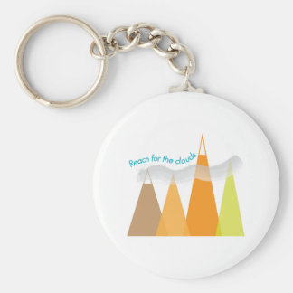 Reach For The Clouds Key Chain