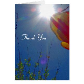 Reach for the Sky Thank You Card
