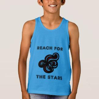 """Reach for the Stars"" Boys' Tanktop Singlet"