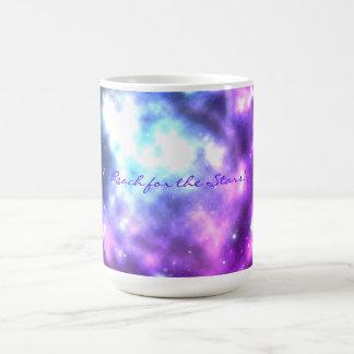 Reach for the Stars! Galaxy Coffee Mug