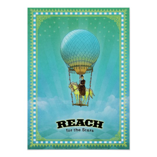 Reach for the Stars (Print) Poster