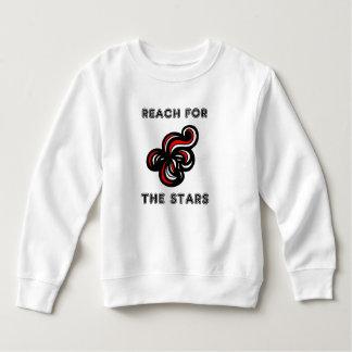 """Reach for the Stars"" Toddler Fleece Sweatshirt"