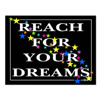 Reach for Your Dreams Postcard