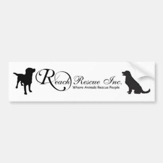 REACH Rescue Bumper Sticker
