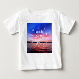 Reach will be the stars baby T-Shirt