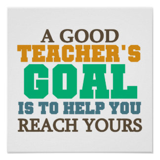 Reach Your Goals Poster