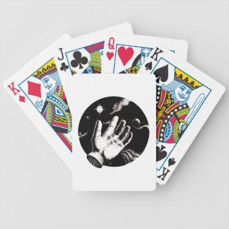 Reaching Beyond dot work Playing Cards