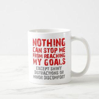 Reaching My Goals Funny Mug