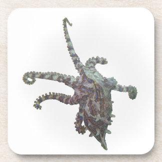 Reaching Octopus Drink Coasters