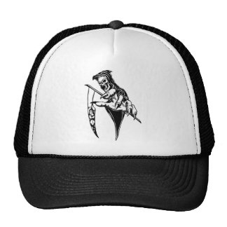Reaching Reaper Trucker Hats