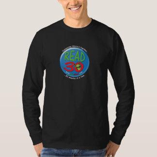 Read3Zero Adult T-Shirt Longsleeve (Black)