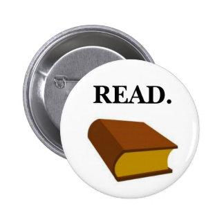 READ. 6 CM ROUND BADGE