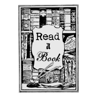 Read A Book Poster