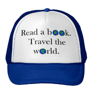 Read a book Travel the World Cap