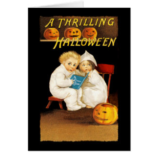 Read a Scary Story Card