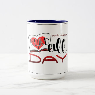 READ ALL DAY mug