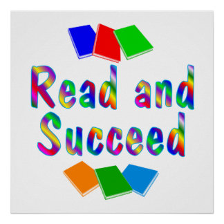 Read and Succeed Poster