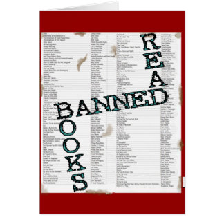 READ BANNED BOOKS CARD