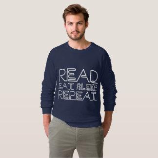 Read, Eat, Sleep, Repeat Sweatshirt