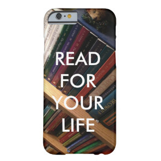"""""""Read for your life"""" phone case"""