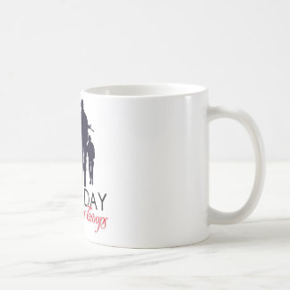 Read Friday - Support Our Troops Basic White Mug
