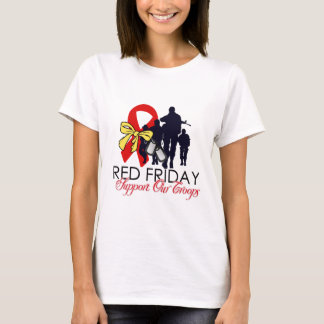 Read Friday - Support Our Troops T-Shirt