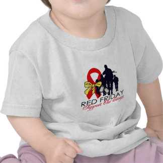 Read Friday - Support Our Troops Tee Shirts