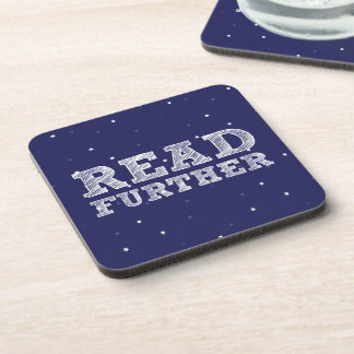 Read Further Drink Coaster