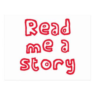 Read me a story! postcard