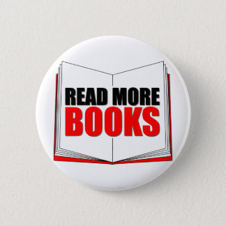 Read More Books 6 Cm Round Badge