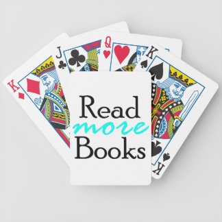 Read More Books Bicycle Playing Cards