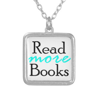 Read More Books Silver Plated Necklace