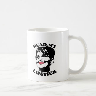 Read my lipstick coffee mug