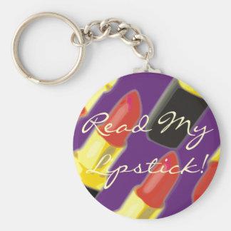 Read My Lipstick! Keychain