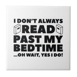 Read Past My Bedtime Tile