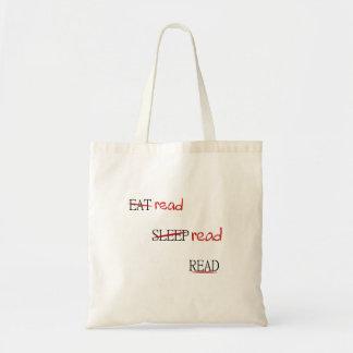 Read read read tote bag
