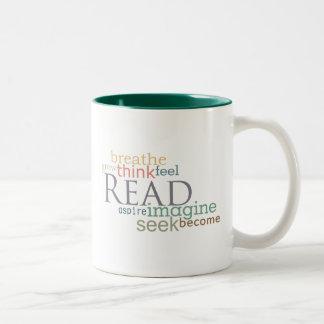 Read, Seek, Imagine Mug (Light)