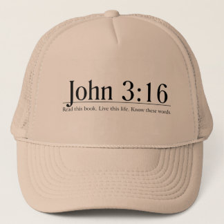 Read the Bible John 3:16 Trucker Hat