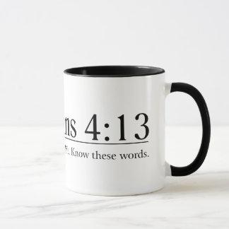 Read the Bible Philippians 4:13 Mug