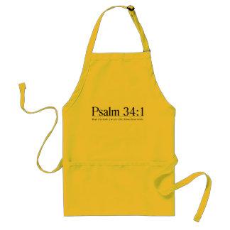 Read the Bible Psalm 34:1 Standard Apron