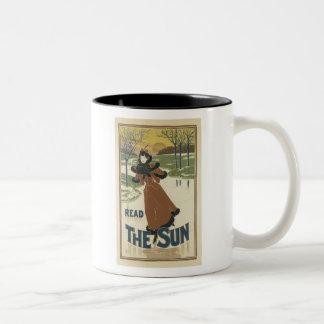 Read The Sun Coffee Mug