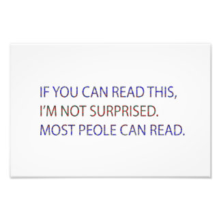 Read this photo print