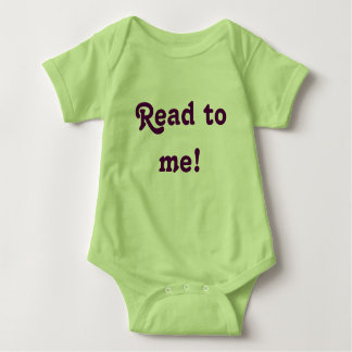 Read to me! baby bodysuit